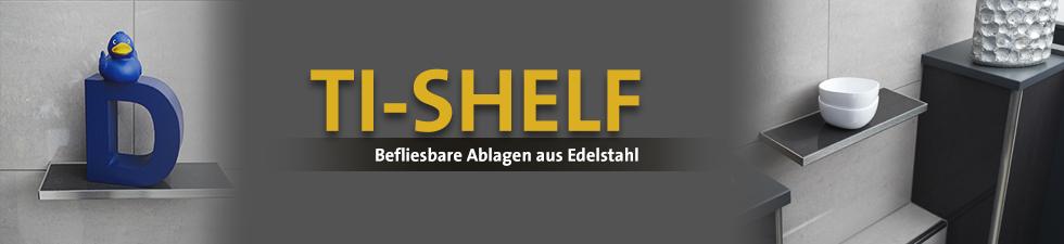 Dural Ti-Shelf burkolható tároló polc