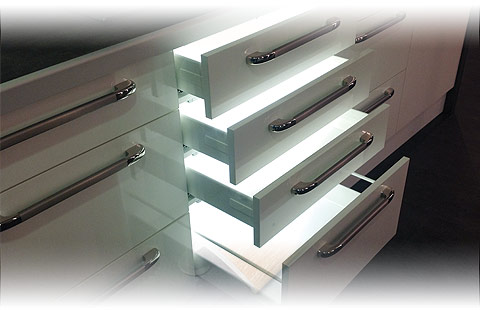 Dural p slide for Eclairage pour meuble